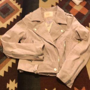 Blank nyc blonde suede jacket
